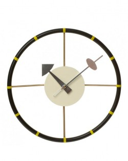Replica George Nelson Steering Wall Clock
