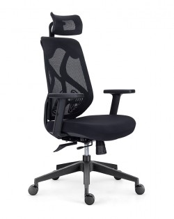 Aviva Ergonomic Office Chair – Black