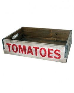 Wooden Tomato Tray