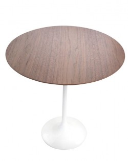 Replica Eero Saarinen Tulip Side Table – Walnut