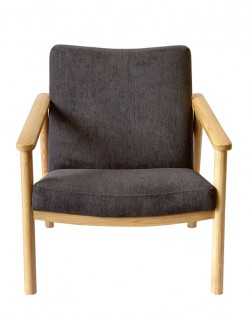Leif Chair – Charcoal / Ash Wood