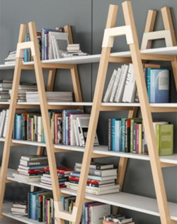 Set of 2 A-Frame Shelving Units
