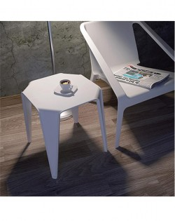 Bohdi Side Table – White