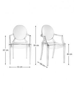 Casper Armchair Transparent