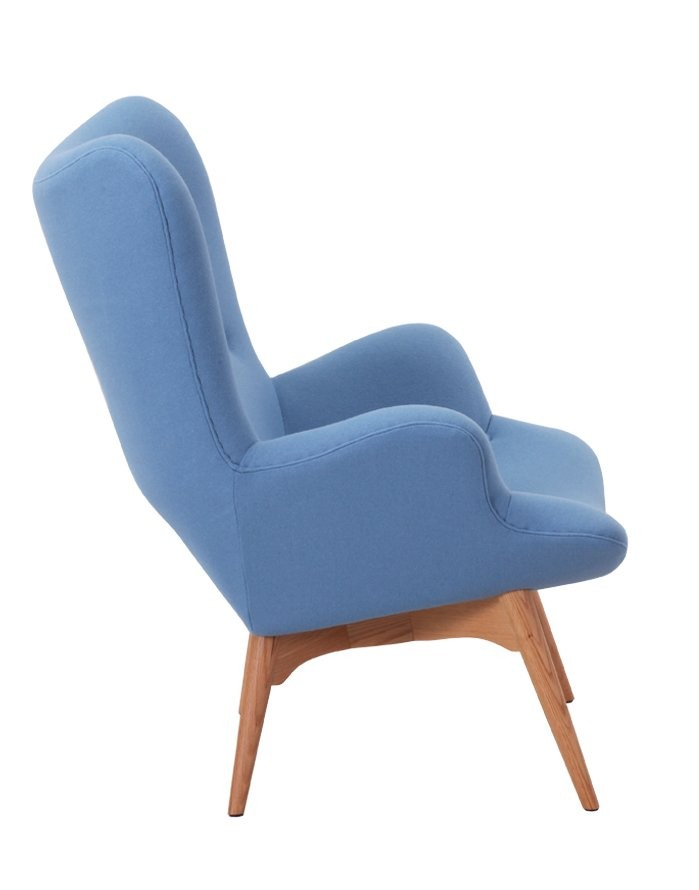 Magnificent Replica Grant Featherston Contour Chair Light Blue Zuca Machost Co Dining Chair Design Ideas Machostcouk