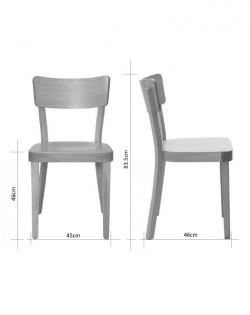 Salzburg Bentwood Chair – Natural
