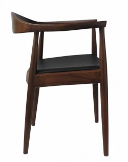 Nordic Hoop Chair – Dark Brown