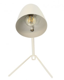 Raven Table Lamp – Ivory