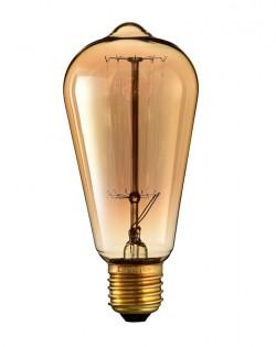 Teardrop Edison Bulb – E27 – 40W
