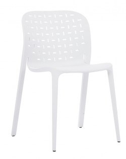 TIG Table and Set of 4 Abuso Chairs – White