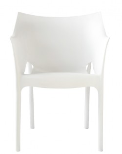 TIG Table and Set of 4 Reid Chairs – White