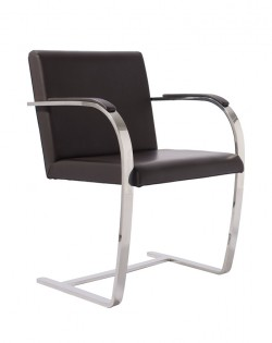 Replica Mies van der Rohe Brno Chair – Black