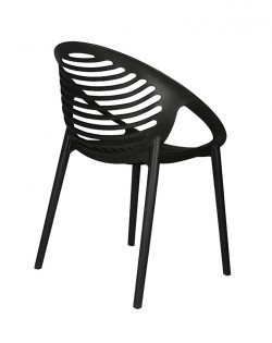 TIG Table and Set of 4 TIG Chairs – Black