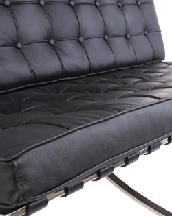 Replica Barcelona 2 Seater Sofa – Black