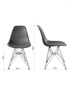 Eiffel Rod Chair – Brown