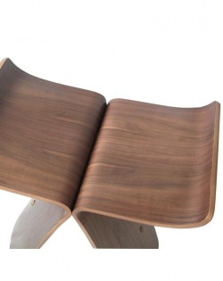 Replica Sori Yanagi Butterfly Stool – Premium Walnut