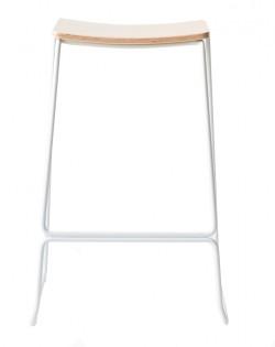 Loft Barstool 65cm – White
