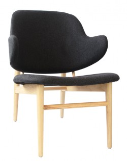 Viking Easy Chair – Charcoal