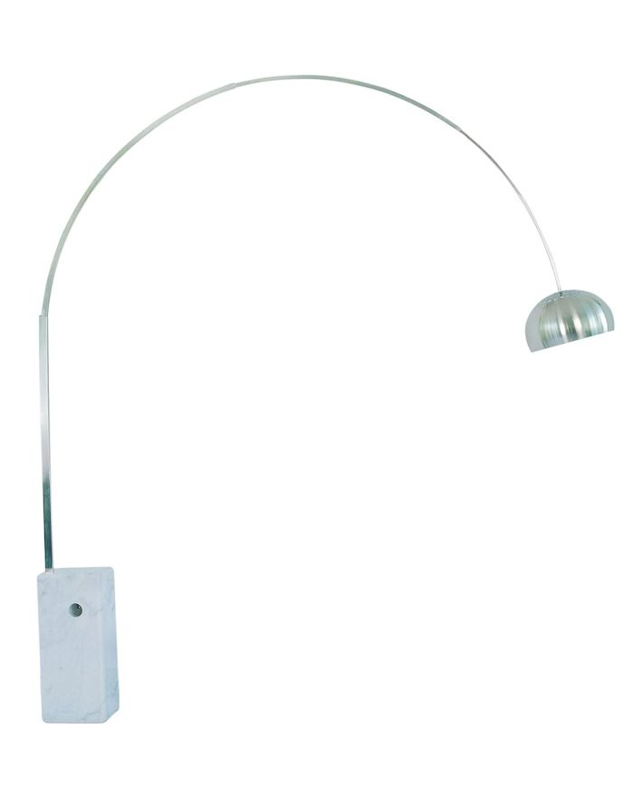 Replica Achille Castiglioni Arco Lamp White Marble Zuca