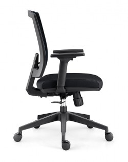 Identity 2.0 Padded Office Chair – Black