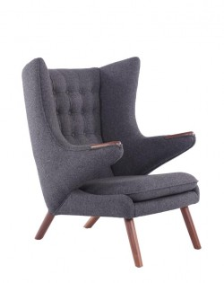 Replica Papa Bear Chair – Charcoal Grey