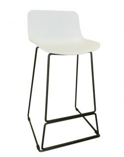 Zen Barstool 65cm – White/Black