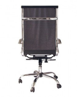 Bureau High Back Mesh Office Chair – Black