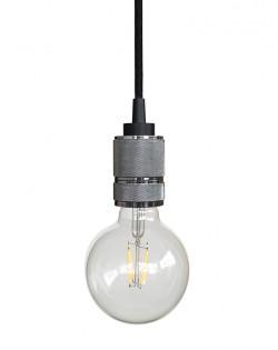 Modern Hanging Bulb – Chrome