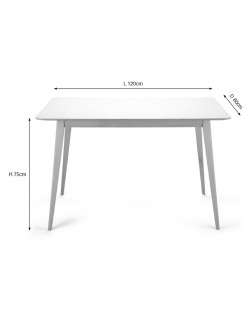 Leonardo Table – 120 cm
