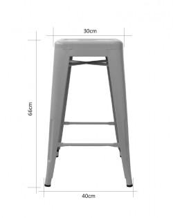 Amelie Stool 66cm – Industrial