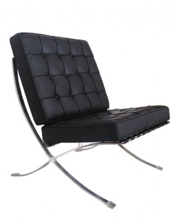 Replica Barcelona Chair – Black