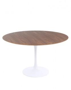 Replica Eero Saarinen Round Tulip Dining Table – Walnut