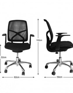 Agency Office Chair – Black