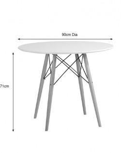 Eiffel Dining Table – 90 cm