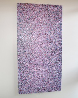 Purple Multi Speckle Painting