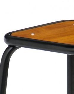 Ecole Bistro Barstool 65cm – Matt Black