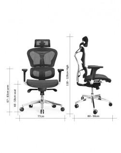 Aviva Ergonomic Office Chair – Black