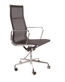 Group High Back Mesh Office Chair – Black