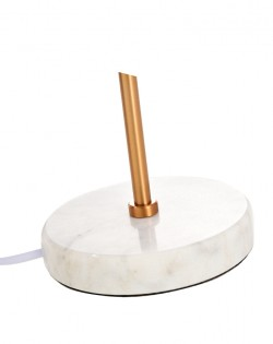 Elementary Table Lamp – Gold/Marble