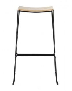 Loft Barstool 75cm – Black