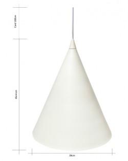 Cono Pendant – Ivory