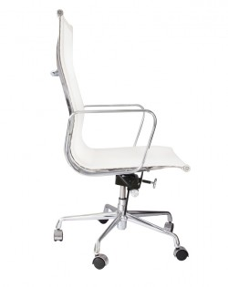 Group High Back Mesh Office Chair – White