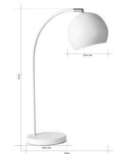 Igloo Table Lamp – White