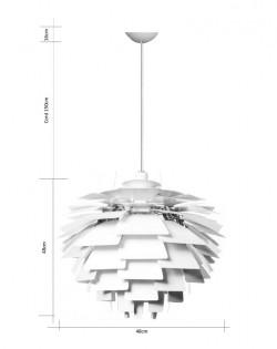 Replica Poul Henningsen Artichoke Pendant – 48cm