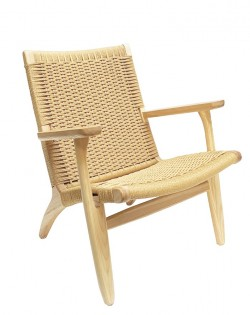 Nordic Woven Lounge Chair