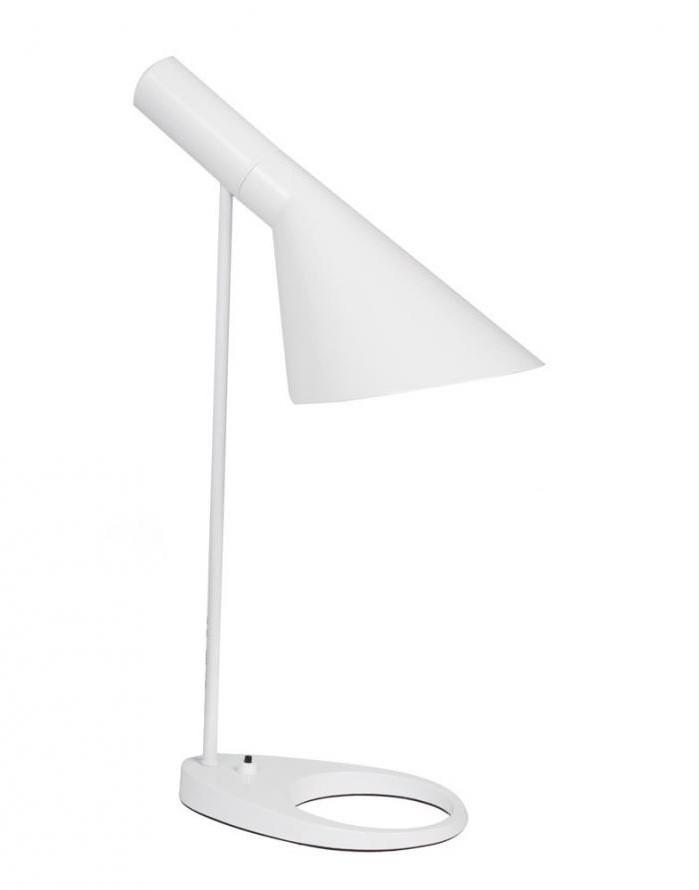 Replica Arne Jacobsen Aj Table Lamp White Zuca