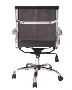 Bureau Low Back Mesh Office Chair – Black