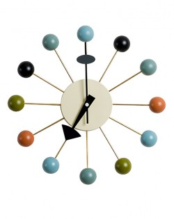 Replica George Nelson Ball Wall Clock – Multi