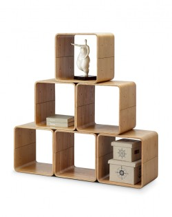 Stackable Plywood Cube