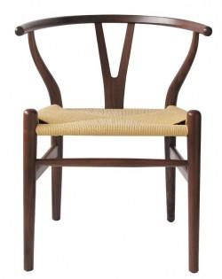 Nordic Y Back Dining Chair – Walnut